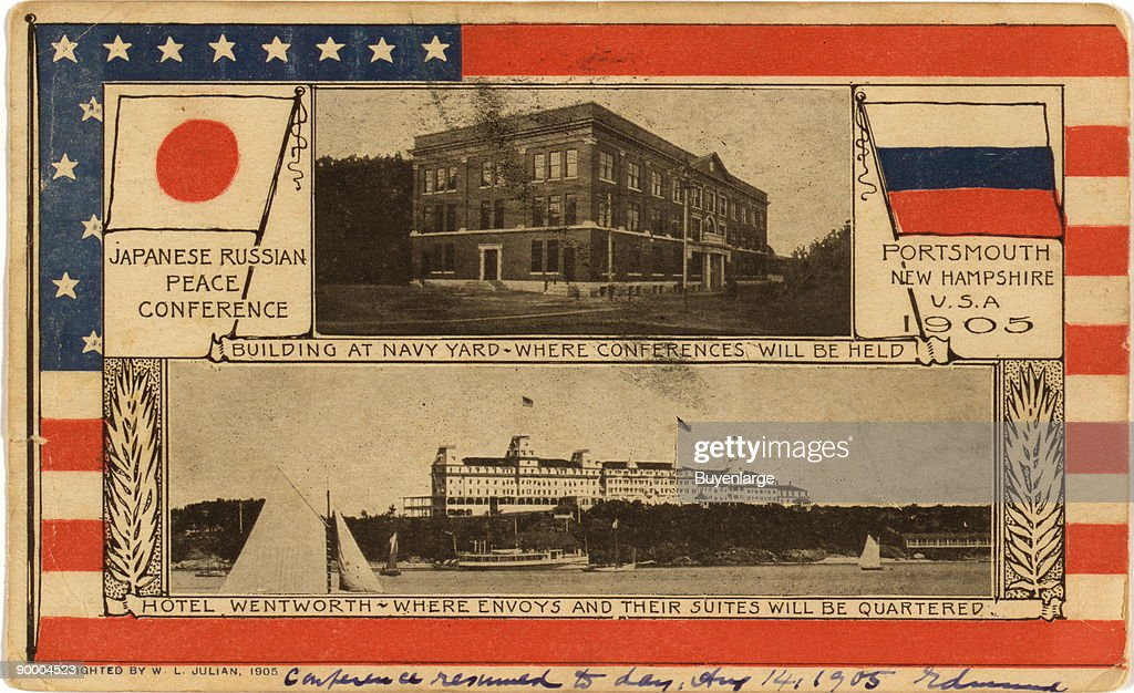 Russian-Japanese Peace Conference building -- Portsmouth, N.H. : News Photo