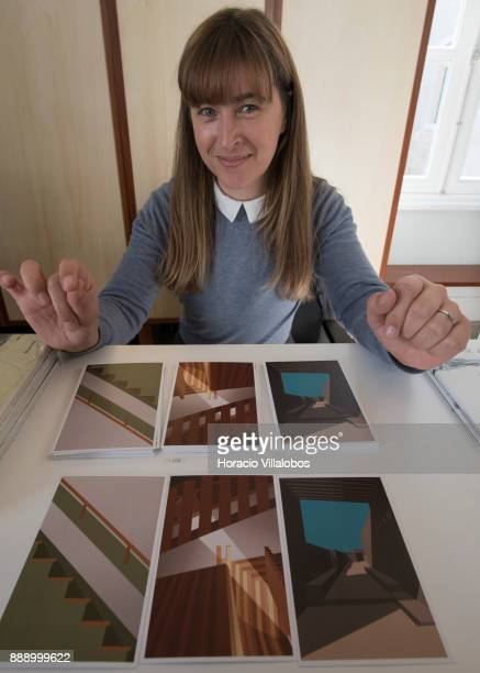Postcards for sale at Casa da Arquitectura inaugurated on 17 November 2017 during the visit by participants of Gastronomic FAM Tour on December 02...