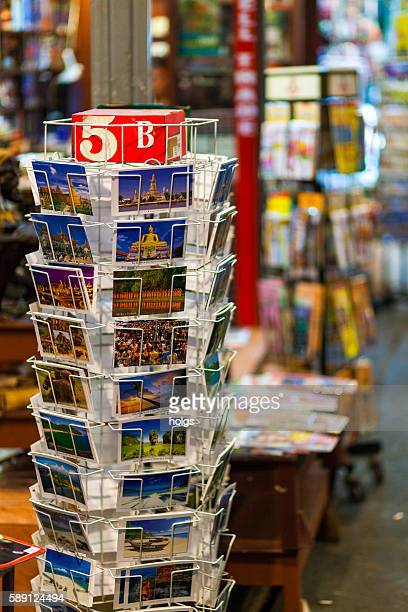 Postcards for sale in Khao San Road