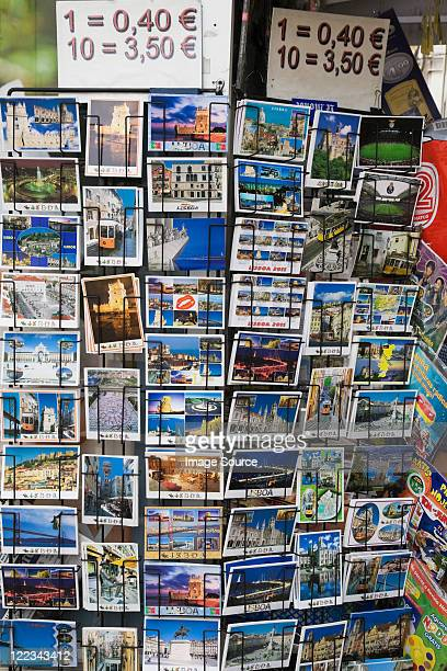 Tarjetas postales para la venta, Lisboa, Portugal