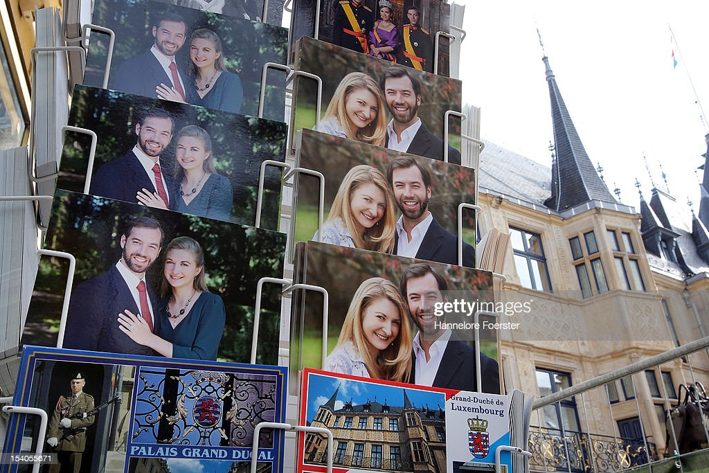 Luxembourg Prepares For Royal Wedding : Nieuwsfoto's
