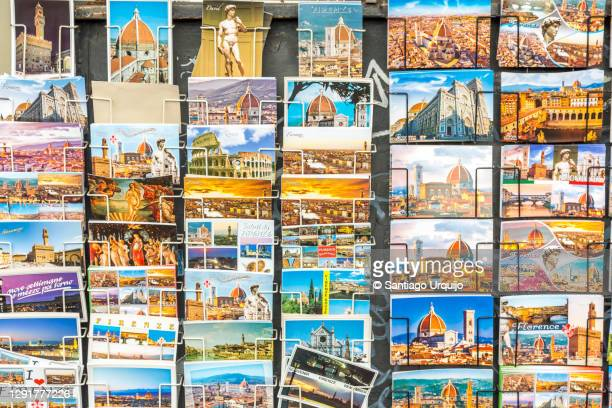 postcards of florence for sale - postcard stock pictures, royalty-free photos & images