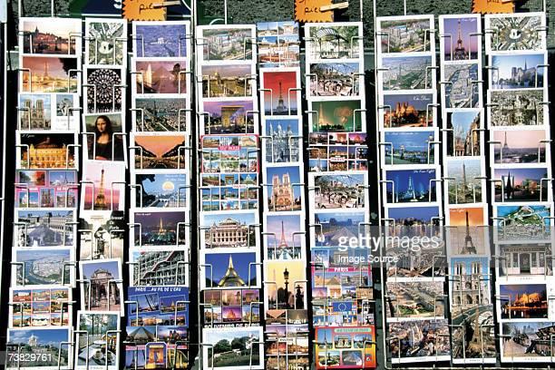 Postcards, Paris, France