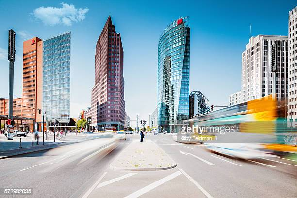 postdamer platz ,summer in the city - sony center berlin stock pictures, royalty-free photos & images