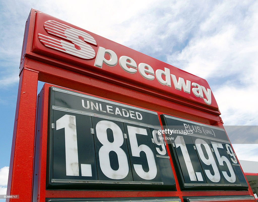 Speedway Gas Prices Near Me >> Posted Gasoline Prices Are Displayed At A Speedway Gas