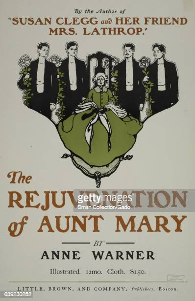 A poster advertising the novel 'The Rejuvenation of Aunt Mary' by Anne Warner 1903 From the New York Public Library