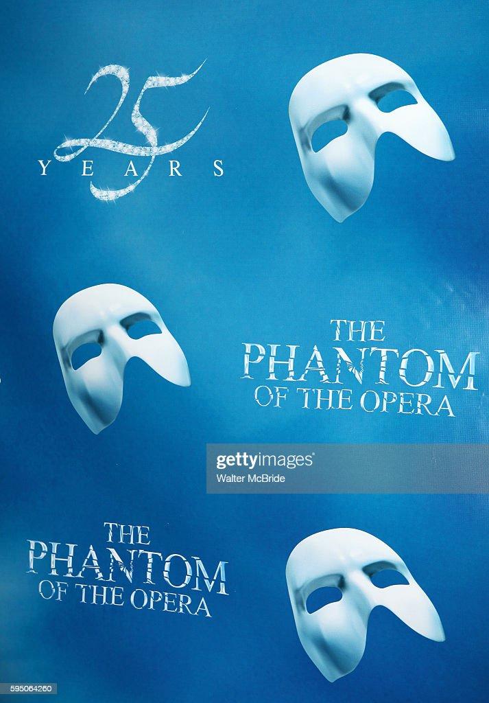 Phantom Of The Opera Broadway Poster