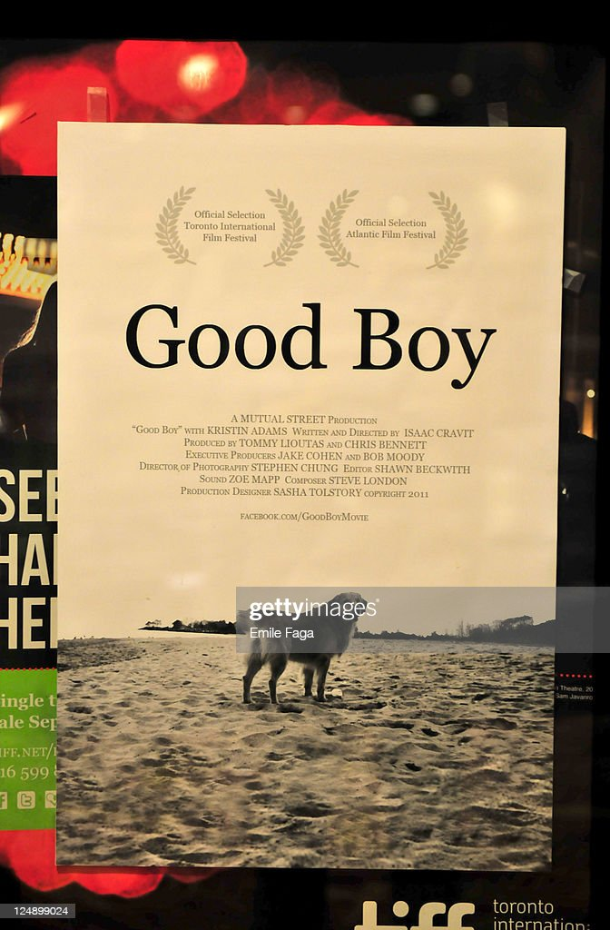 Poster at the screening of