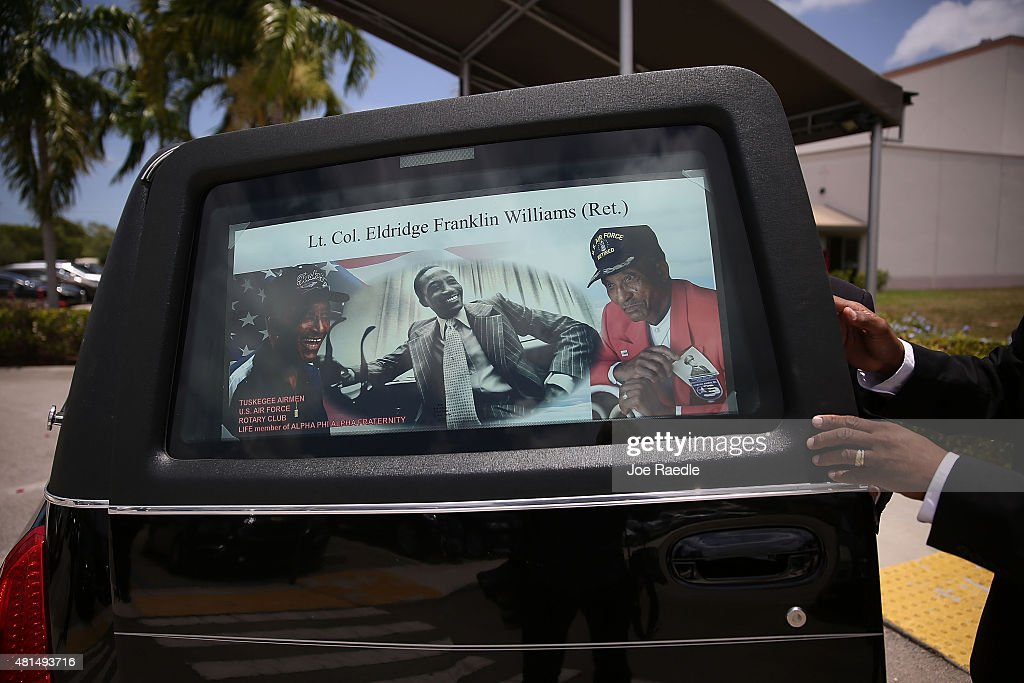 Funeral Held For Tuskegee Airman In Miami : News Photo
