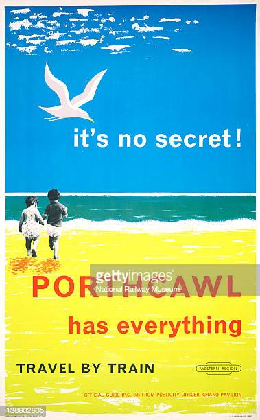 Poster British Railways Western region It's no secret Porthcawl has Everything