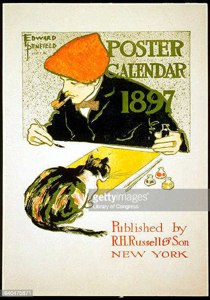 'Poster Calendar 1897' by Edward Penfield