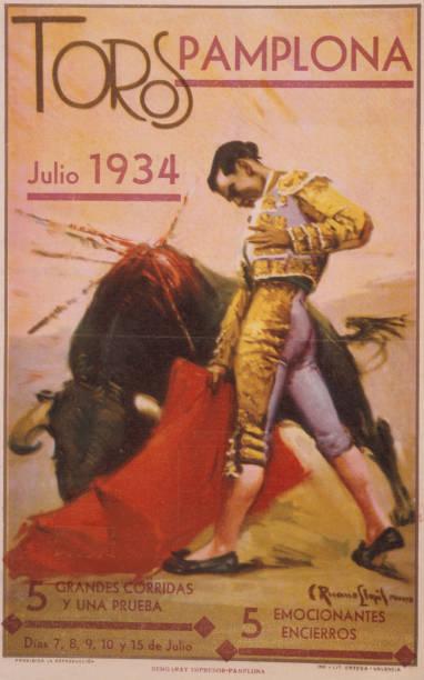 Bullfighting Poster Wall Art