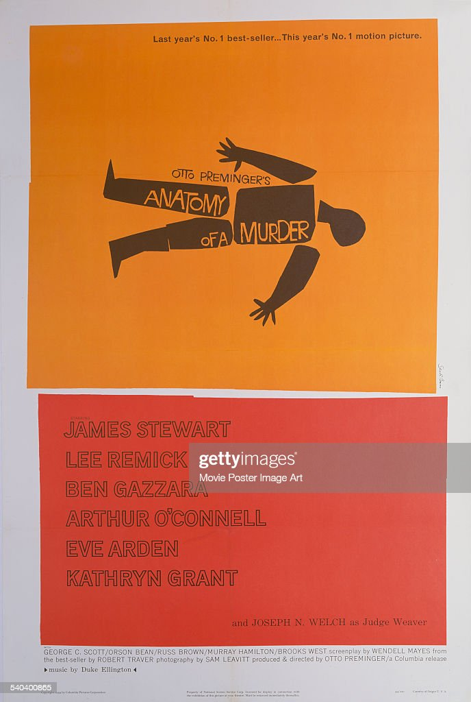 Anatomy Of A Murder Pictures Getty Images