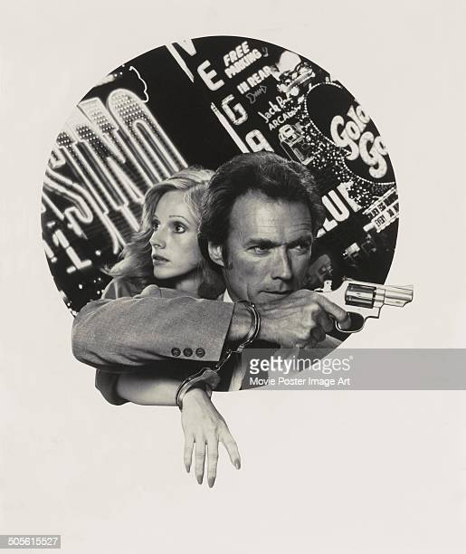 A poster for Clint Eastwood's 1977 drama 'The Gauntlet' starring Clint Eastwood and Sondra Locke