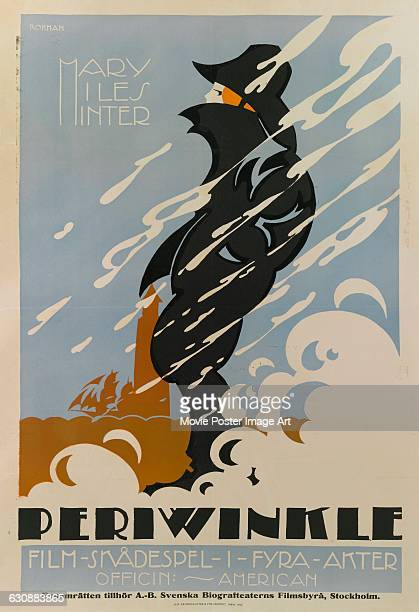 A poster for Eric Rohman for the 1917 US film 'Periwinkle' starring Mary Miles Minter