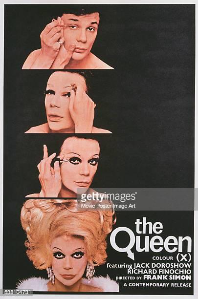 Poster for Frank Simon's 1968 documentary film 'The Queen' starring Jack Doroshow.