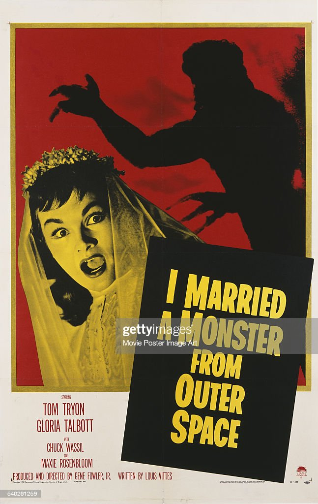 I Married A Monster From Outer Space : News Photo