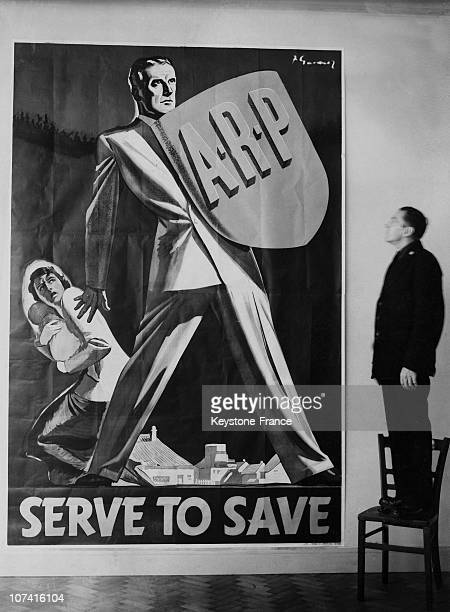 Poster For Great National Arp Campaign In London On September 29Th 1938