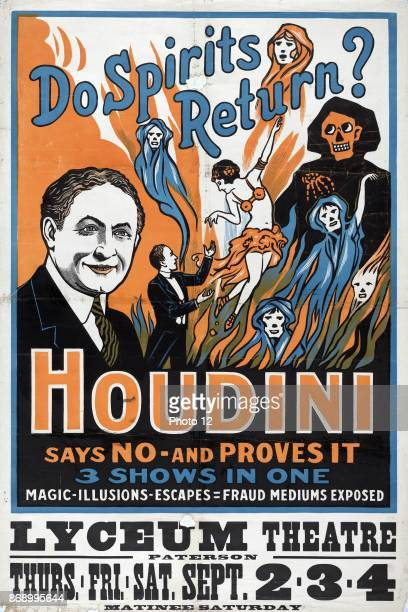 Kennedy The Mesmerist Hypnotist Retro Victorian Magic Poster