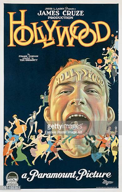 A poster for James Cruze's 1923 comedy 'Hollywood'