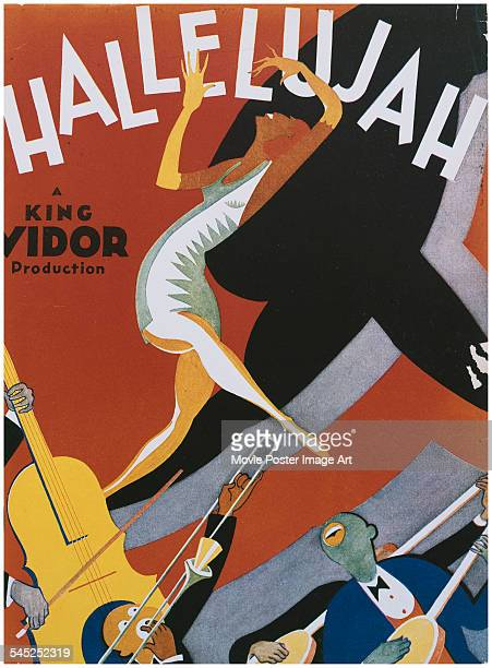 A poster for King Vidor's 1929 drama 'Hallelujah'