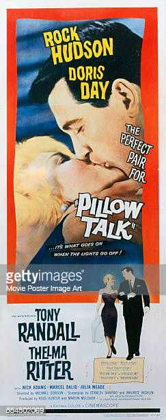 A poster for Michael Gordon's 1959 comedy 'Pillow Talk' starring Rock Hudson and Doris Day