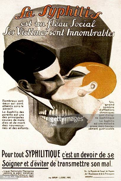 poster for preventive measures against syphilis august 25 1926