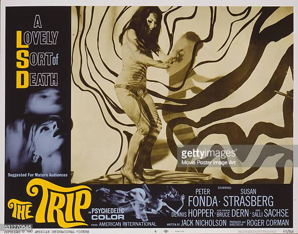 A poster for Roger Corman's 1967 drama 'The Trip'