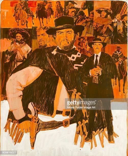 Poster for Sergio Leone's 1966 western 'Il Buono, il Brutto, il Cattivo' starring Clint Eastwood, Eli Wallach and Lee Van Cleef.