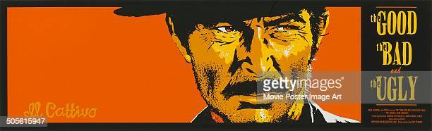 A poster for Sergio Leone's 1966 western 'The Good the Bad and the Ugly' starring Lee Van Cleef