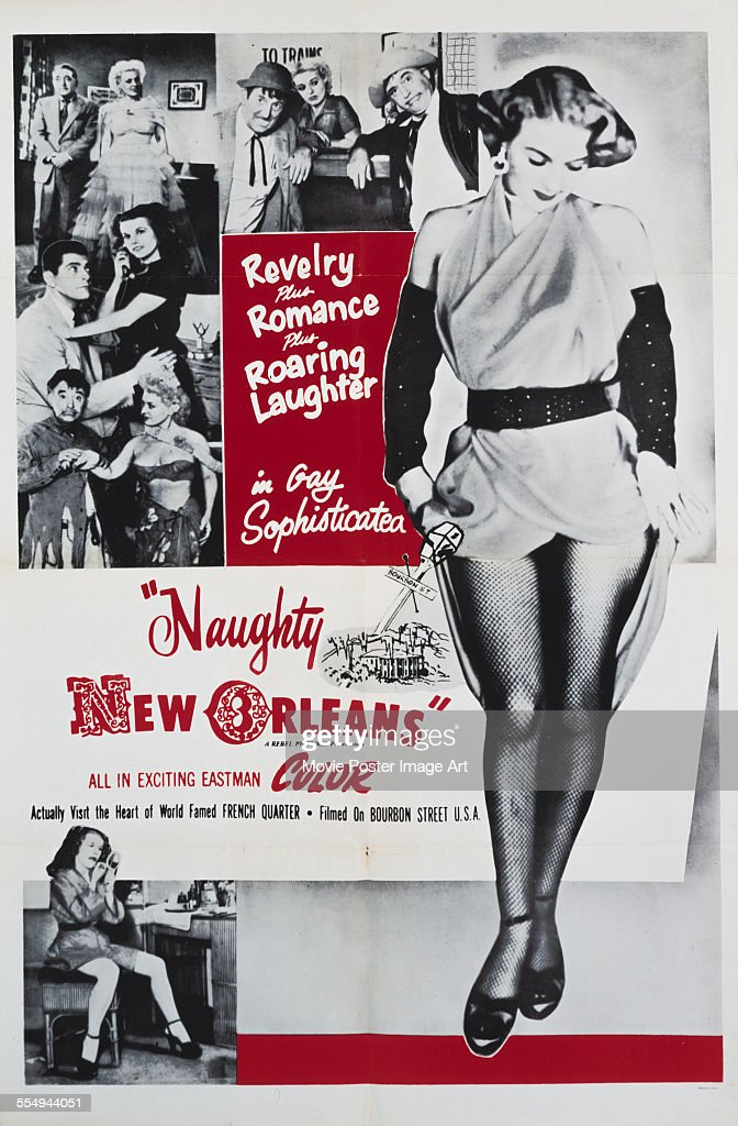Sidney Baldwin/'s Naughty New-Orleans movie poster print