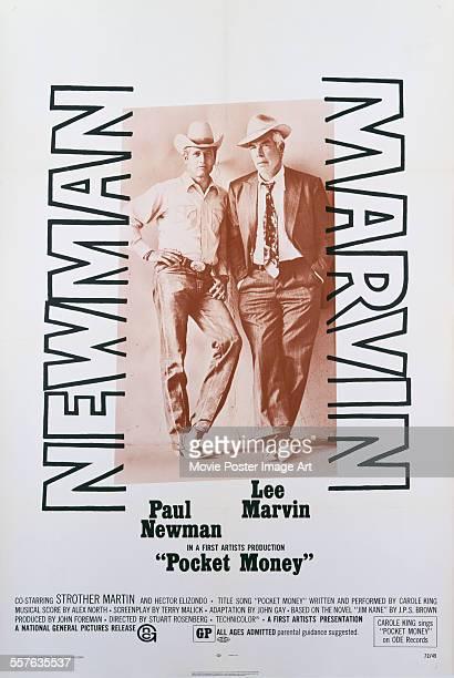 A poster for Stuart Rosenberg's 1972 western 'Pocket Money' starring Paul Newman and Lee Marvin