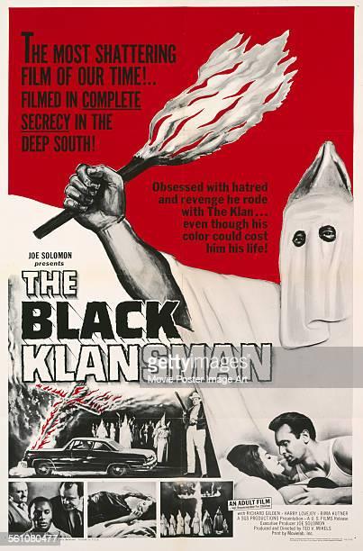 Poster for Ted V. Mikels' 1966 drama 'The Black Klansman'.