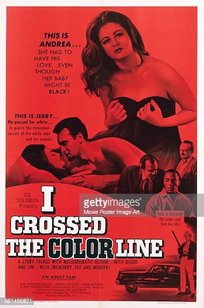 Poster for Ted V. Mikels' 1966 drama 'The Black Klansman' starring Richard Gilden, Rima Kutner, and Kirk Kirksey.