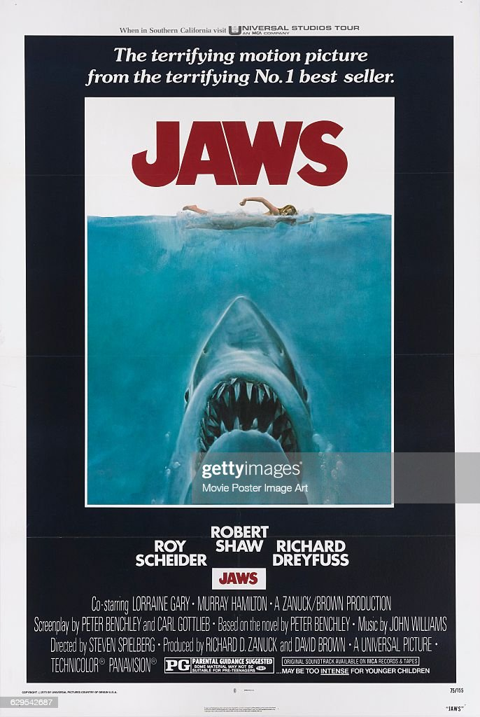 Top movies which are similar to jaws.