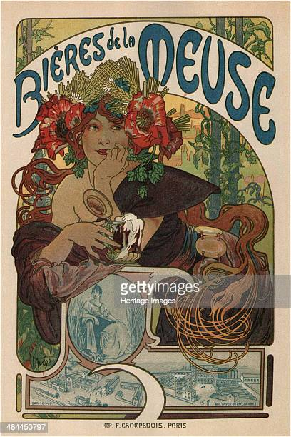 Poster for the Bieres de la Meuse 1897 From a private collection