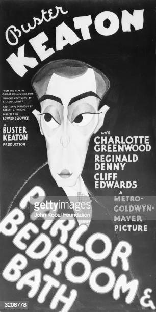 A poster for the Buster Keaton comedy 'Parlor Bedroom and Bath' costarring Charlotte Greenwood Reginald Denny and Cliff Edwards and directed by...