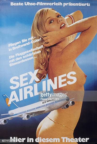 Poster for the film 'Sex Airlines'