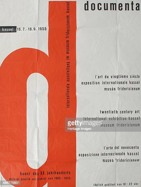 Poster for the First documenta Exhibition in 1955 1955 Artist Anonymous