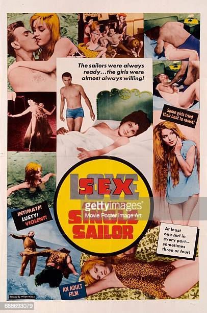 Image contains suggestive contentA poster for the Greek language exploitation film 'Sex and the Single Sailor' aka 'The Lonely Sailor and the Girl'...