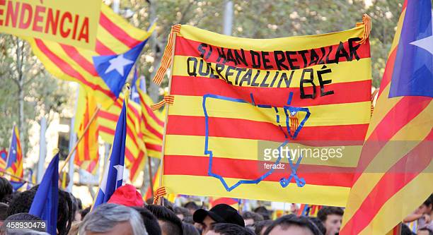Poster for the independece of Catalonia