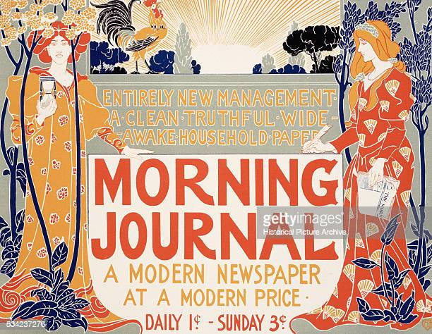 Poster for the Morning Journal by Louis John Rhead