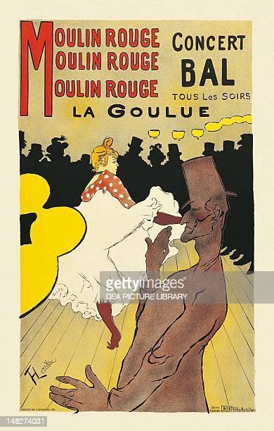 Poster for the Moulin Rouge by Henri de Toulouse Lautrec Albi Musée ToulouseLautrec