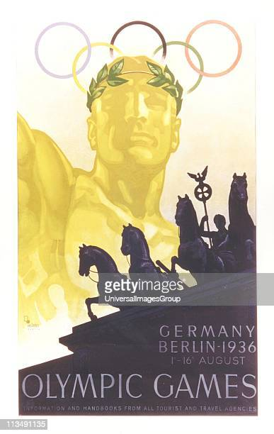 Poster for the Olympic Games in Berlin Germany August 1936