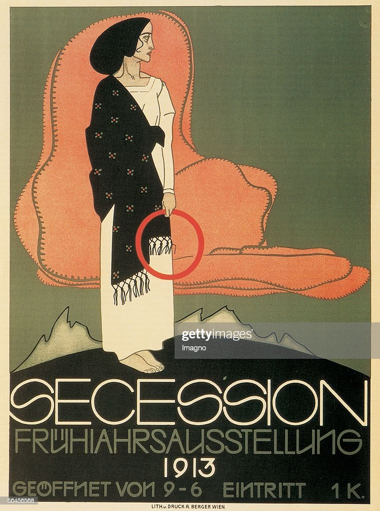 Poster: Spring Exhibition of Vienna's Secession : News Photo