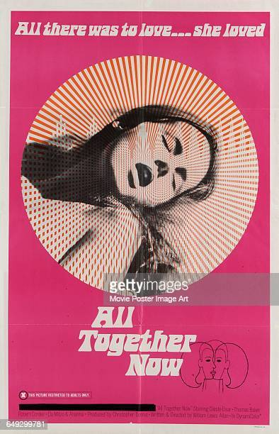 Image contains suggestive contentA poster for the Swedish pornographic film 'All Together Now' 1970