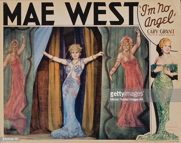 Poster for Wesley Ruggles' 1933 comedy 'I'm No Angel' starring Mae West.