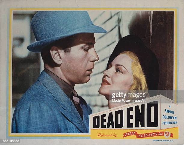 A poster for William Wyler's 1937 crime film 'Dead End' starring Humphrey Bogart and Claire Trevor