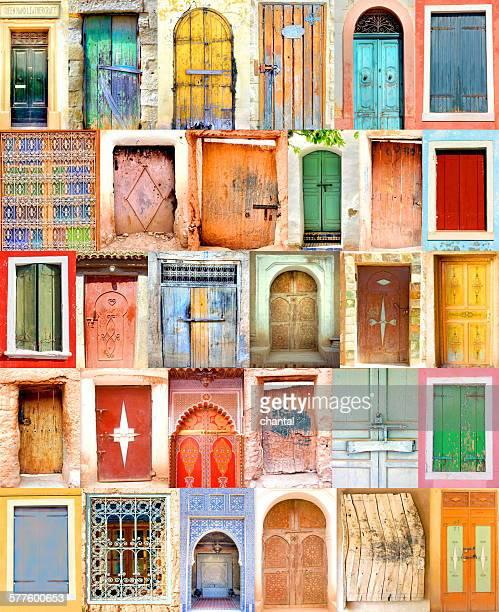 poster from old moroccan doorways
