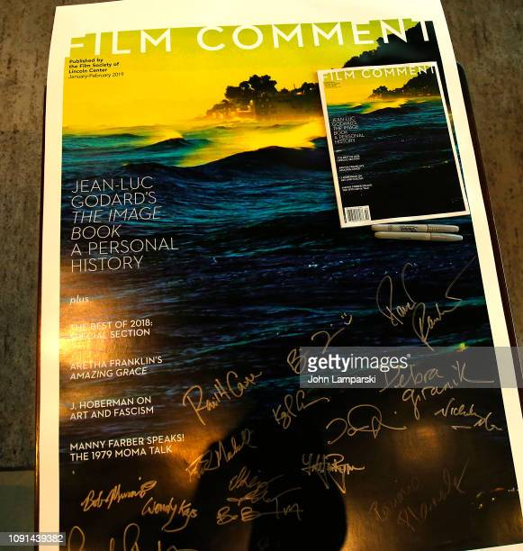 A poster is seen during the Film Society of Lincoln Center Film Comment Annual Luncheon at Lincoln Ristorante on January 08 2019 in New York City